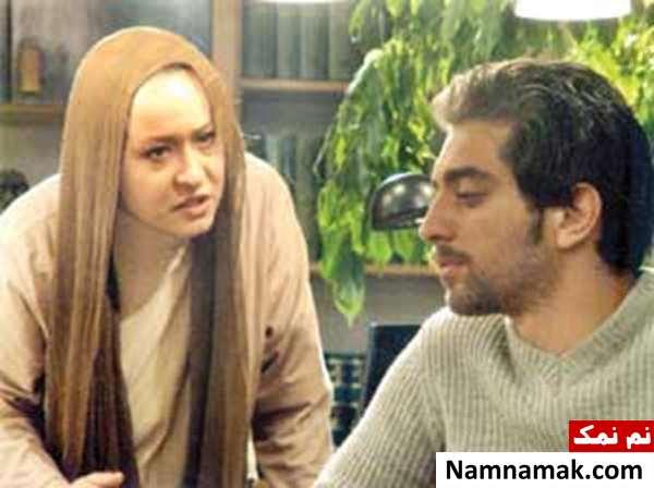 آزیتا حاجیان و بهرام رادان در فیلم شمعی در باد