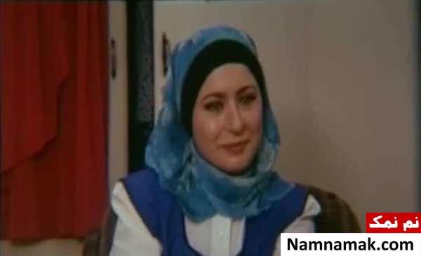 آزیتا حاجیان و اکبر عبدی در فیلم آدم برفی