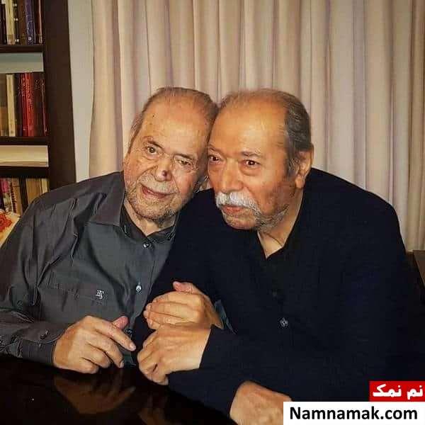 عکسی از محمدعلی کشاورز و علی نصیریان