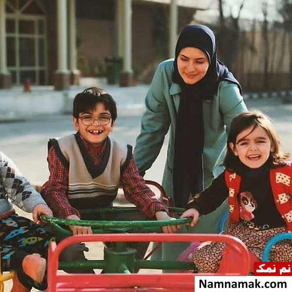 ساناز سعیدی  ،  یونا تدین و نیوشا علیپور در بچه مهندس