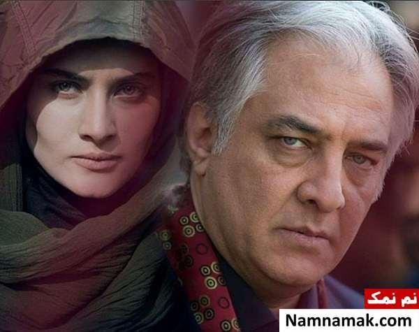 ساناز سعیدی و ایرج نوذری در سارق روح