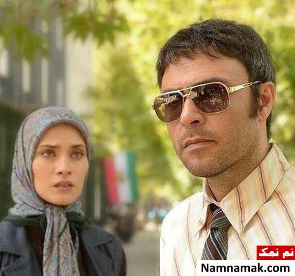 ساناز سعیدی و علیرضا کمالی در سریال نفس