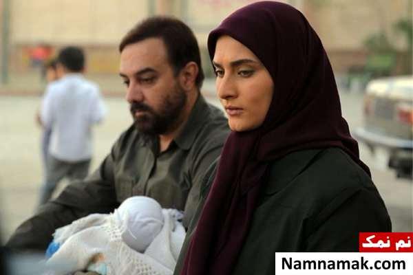 ساناز سعیدی و برزو ارجمند در بچه مهندس