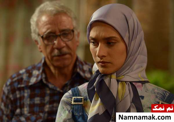 ساناز سعیدی و مسعود رایگان در سریال نفس