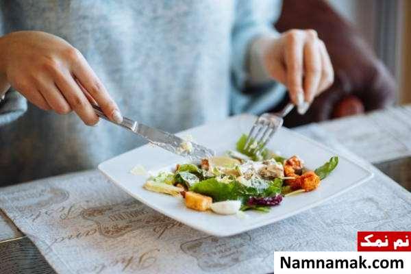 تغذیه مناسب برای لاغری شکم