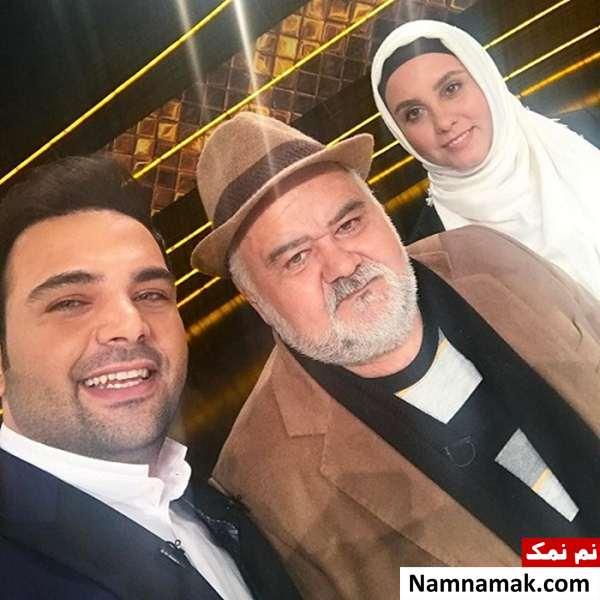 اکبر عبدی و احسان علیخانی و المیرا عبدی