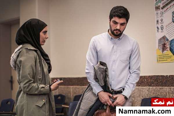 ساناز طاری و سینا مهراد در سریال پدر