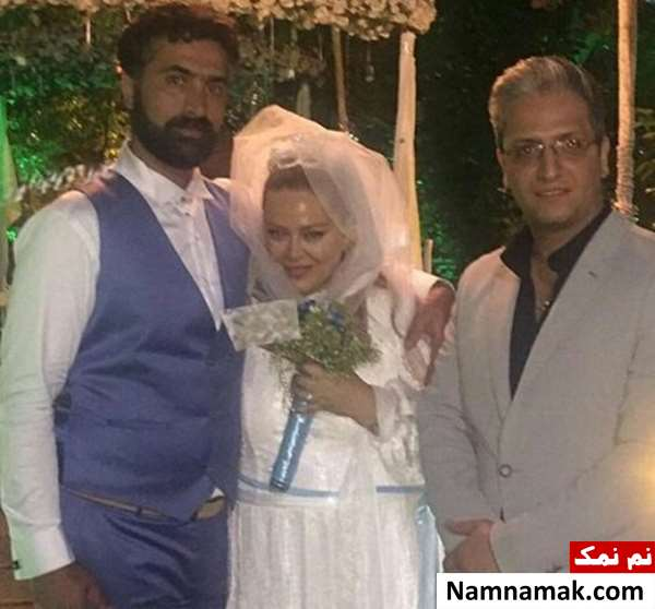 بهاره رهنما در آغوش همسرش و در کنار محسن مالجو