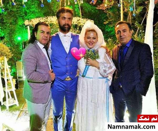 مراسم ازدواج بهاره رهنما