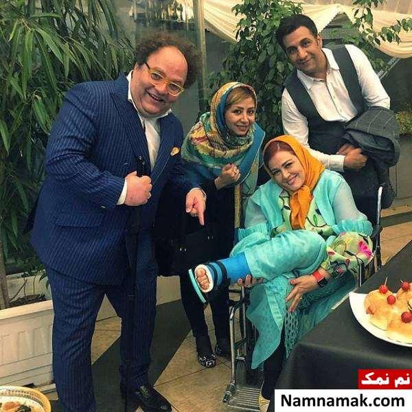 حمید سپیدنام و بهاره رهنما در فیلم پاستاریونی