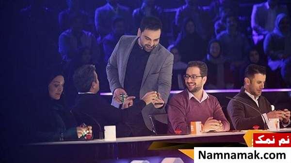 سید بشیر حسینی در مسابقه عصر جدید