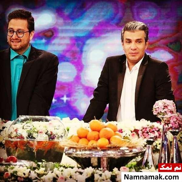 سید بشیر حسینی و آریا عظیمی نژاد